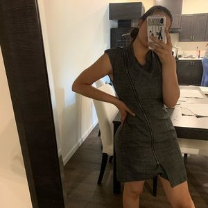 Calvin Klein zipper dress